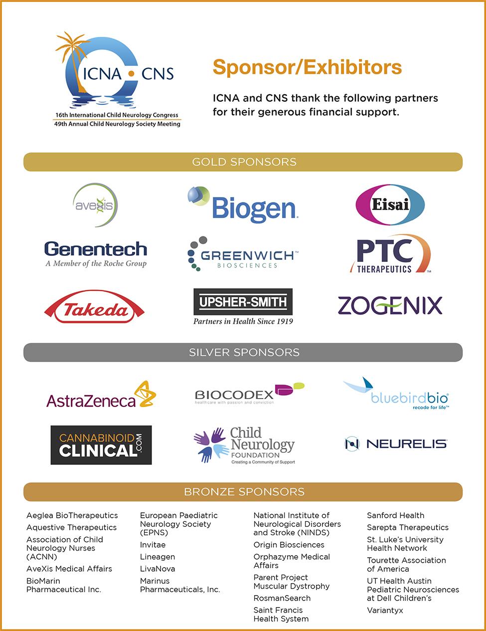 2020 CNS Sponsors