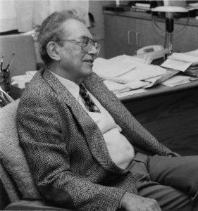 Cesare Lombroso MD, PhD (1917-2013)